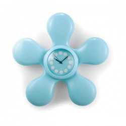 Pendulette étanche en forme de fleur avec ventouse