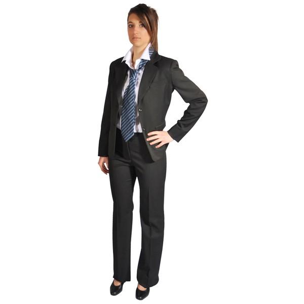pantalon de costume femme gris anthracite costumes et compagnies cepovett 9098. Black Bedroom Furniture Sets. Home Design Ideas