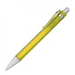 "Stylo bille corps jaune ""Boston"""