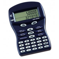 "Calculatrice ""Duo bank"""
