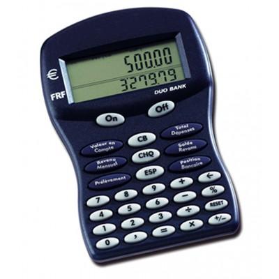 "Calculatrice ""Duo bank"""