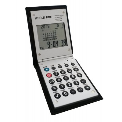 "Calculatrice de poche ""Worldtime"""