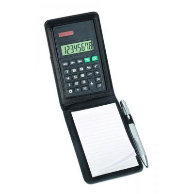 Bloc-notes avec calculatrice