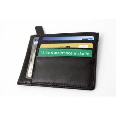 Porte monnaie porte cartes plat