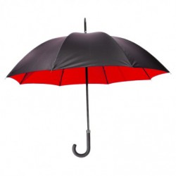 PARAPLUIE LONDON NOIR/ROUGE