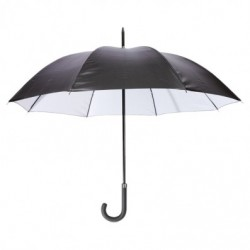 PARAPLUIE LONDON NOIR/GRIS LIGHT