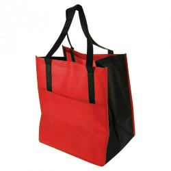 Sac cabas rouge grand volume