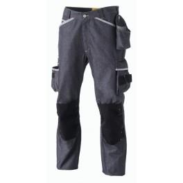 Pantalon de travail avec genouillères