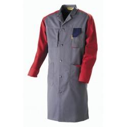 BLOUSE de Travail TEC-CONTROL Molinel Gris/rouge