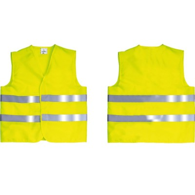 GILET SECURITE JAUNES FLUO 2 BANDES - Taille XXL