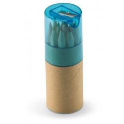 Tube de 12 crayons de couleur