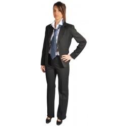 Veste de costume Femme gris anthracite
