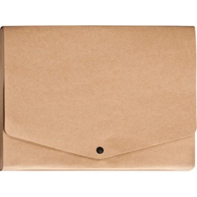 """Pochette A4 en carton recyclé """"Albiac"""""""