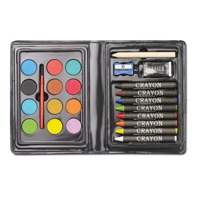 Set de peinture compact 24 pièces