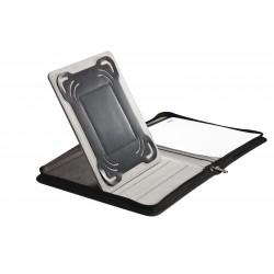 Conférencier A4 matelassé avec support tablette