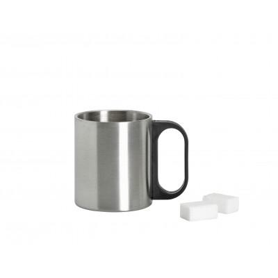 Mug 15 cl acier brossé