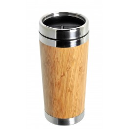 Mug isotherme 45 cl extérieur bambou