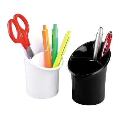 Pot à crayons 2 compartiments en acrylique