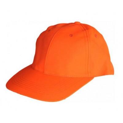 Casquette fluo orange