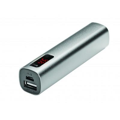 Batterie nomade USB 2200 mAh avec témoin