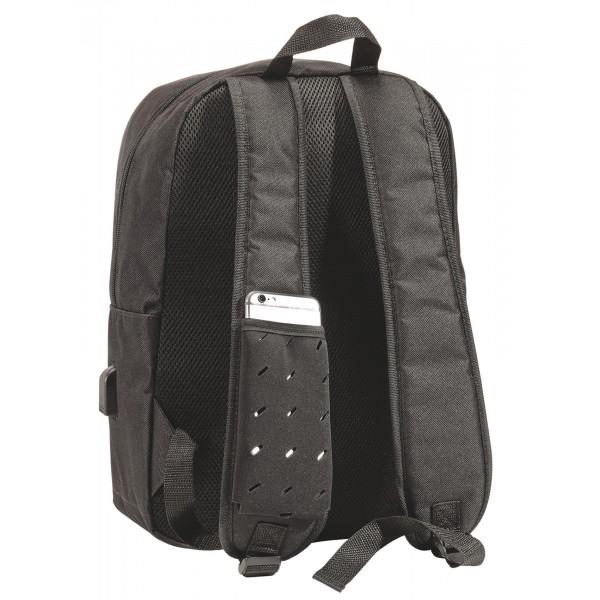 sac dos avec port usb externe. Black Bedroom Furniture Sets. Home Design Ideas