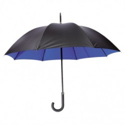 Parapluie Ø100cm noir brillant