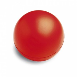 Balle anti stress rouge