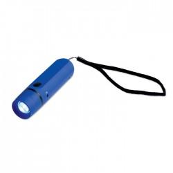 Lampe dynamo bleue 1 LED