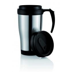 Mug isotherme 35 cl argent