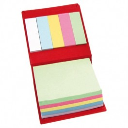Bloc papier repositionnable couverture rigide