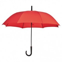 Parapluie 103 cm polyester rouge