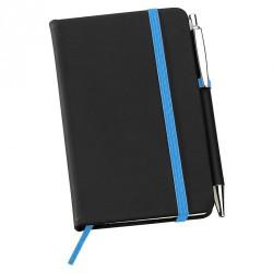 Carnet de poche A5 bleu