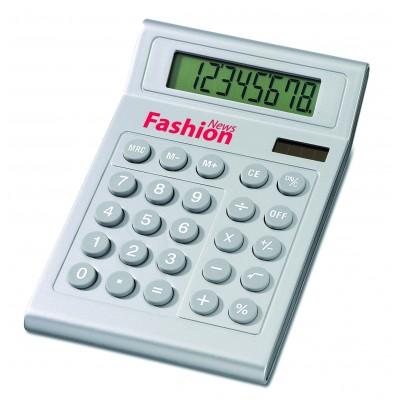 Calculatrice 8 digit solaire et piles