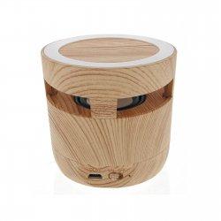 Chargeur sans fil et enceinte bluetooth bois