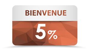 Inscrivez-vous à la newsletter objets publicitaires et gagnez un bon de 5% de reduction